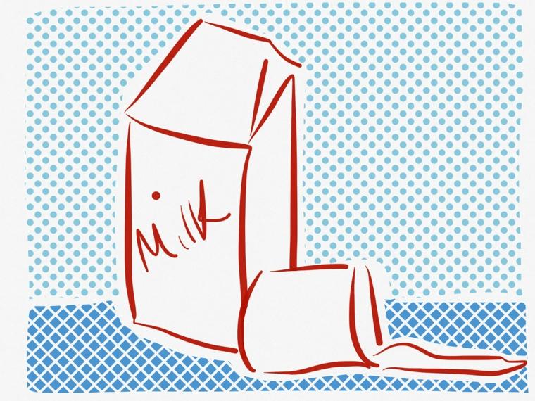 spilled milk retro