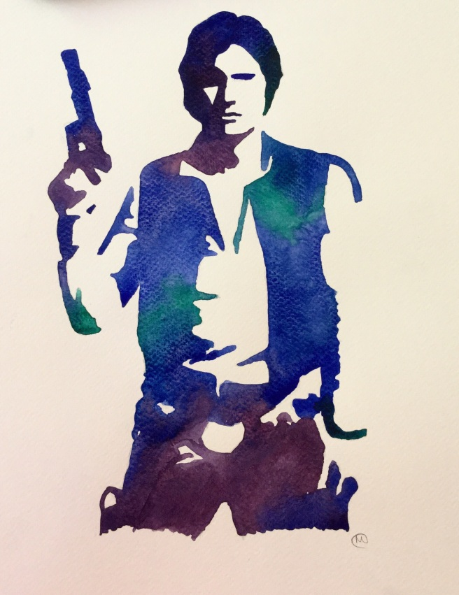 Han Solo Art Painting Star Wars