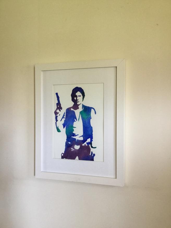 Han Solo art